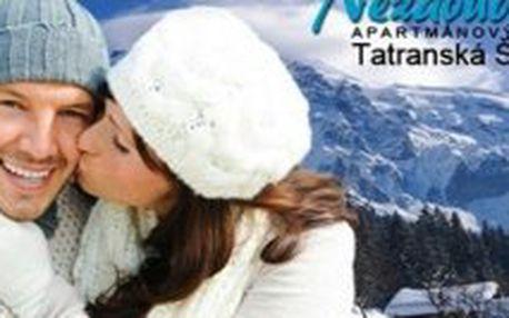 4 denní celoroční pobyt v Tatrách pro 2 osoby s polopenzí, welcome drinkem a s neomezeným vstupem do wellness