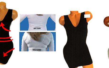 Hubnoucí stahující košilka G&N z mikrovlákna se sauna efektem