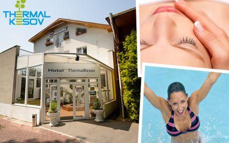 Úžasné 3 dni pre 2 osoby s raňajkami v Hoteli** ThermalKesov! V cene aj NEOBMEDZENÉ kúpanie v termálnej vode, sauna, kozmetika a mnoho ďalšieho!