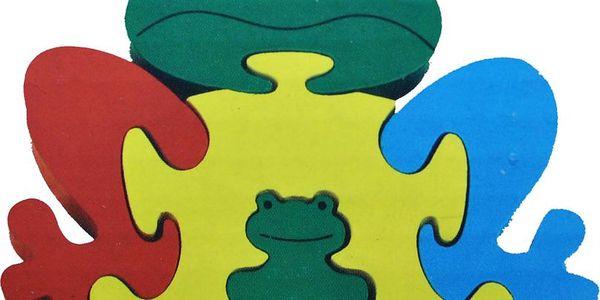 Poctivé dřevěné puzzle pro nejmenší. Skládání hravě rozvíjí motoriku, logiku a kreativitu.