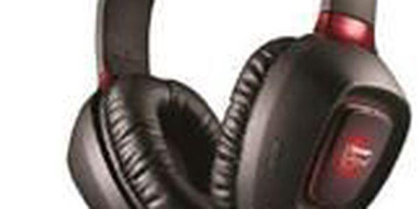 Sluchátka, která se mazlí se zvukem. Creative Labs Tactic 3D Rage. Technologie SBX Surround přenáší zvuk do všech směrů.
