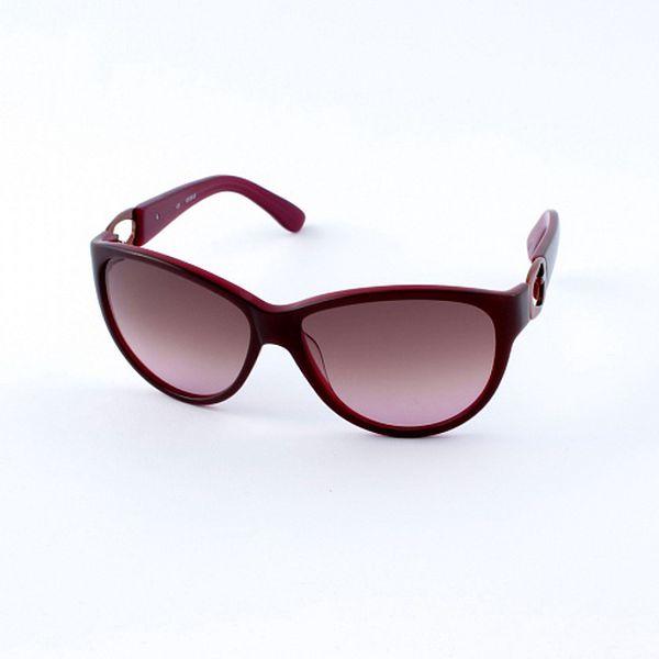 Dámske vínové slnečné okuliare Guess