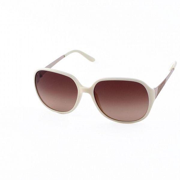 Dámske krémové slnečné okuliare Guess