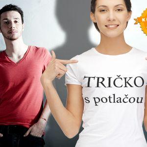 Originálny darček: tričko podľa vašich predstáv teraz už za 5,40 €! Kvalitné biele alebo červené unisex tričko s plnofarebnou potlačou do veľkosti A3 so zľavou 51%.
