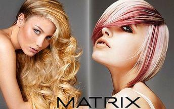 Zdravé a silné vlasy so značkou MATRIX len za 9 €! Strih, umytie, fúkanie, proteínová kúra a styling v salóne NOEMI! +balík aj s masážou rúk, farbením a formovaním obočia!