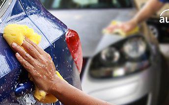 Odsolení a precizní ruční mytí vašeho automobilu