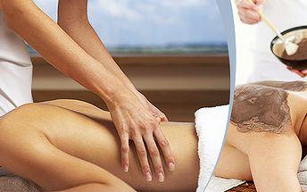 Rašelinový zábal, klasická masáž a elektroliečba