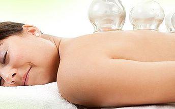 40-minútová masáž bankovaním