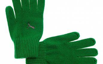 Dámské zelené prstové rukavice Puma
