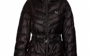 Dámský černý prošívaný kabátek Puma