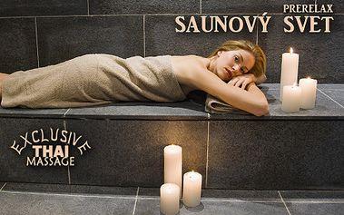 Pocíťte blahodárny vplyv sauny na váš organizmus - vstup do saunového sveta, kyslíková terapia a all inclusive nápoje v PreRelax Exclusive Thai Massage Centre len za 7,90 €!