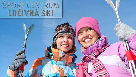 Vynikajúca lyžovačka na 5 zjazdovkách Športcentra Lúčivná s celodenným skipasom platným počas celej zimnej sezóny len za 9,90€ po 42% zľave.