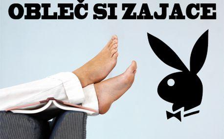 Doprajte svojim nohám štýlový luxus! Vyberte si čiernu alebo bielu kolekciu ponožiek značky Playboy! Poštovné v cene!