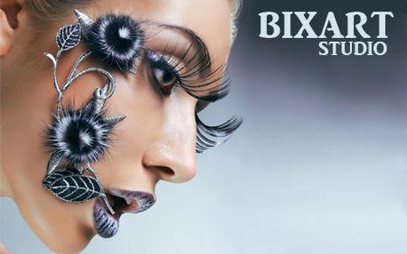 Nádherne dlhé riasy s aplikáciou umelých trsov v BIXART štúdiu! Zvýšte si sebavedomie zvodným pohľadom vďaka výraznému predĺženiu a zahusteniu rias!