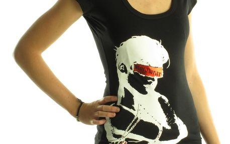 Dámské tričko Rocawear černé bílý potisk