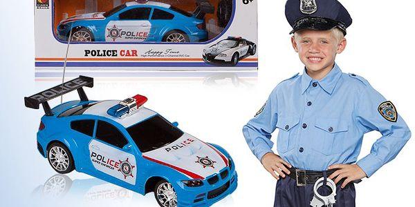 Policejní auto na dálkové ovládání pro děti od 6 let.