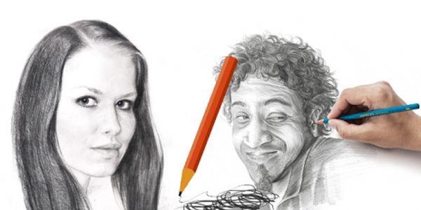 Kurz KRESLENÍ pravou mozkovou hemisférou za báječných 1 140 Kč! Kreslení podobně jako psaní je dovednost, které je možno se naučit. Naučit se kreslit je především naučit se správně vidět. Kreslit portréty budete již ZA DVA DNY!
