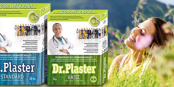 Detoxikačné náplasti Dr. Plaster, ktoré podporujú chudnutie