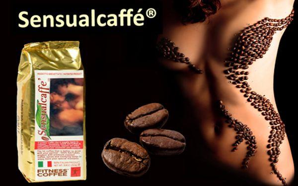Sensualcaffé je 100% prírodná káva vášne, určená pre zmyselnejší partnerský život. Obsahuje zmes afrodiziakálnych prírodných bylín a korení a zintenzívňuje intímne chvíle!