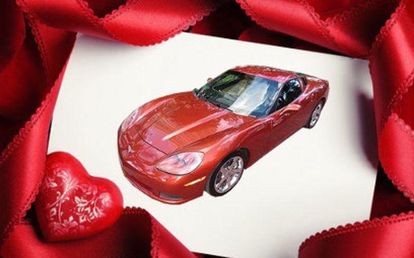 Romantická půlhodinka v luxusním autě za 990 Kč!