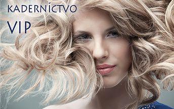 Kompletná vlasová starostlivosť - strih, farbenie alebo melír, fúkaná, styling už od 9,90 € v Kaderníctve VIP! Zažiarte zdravými vlasmi s bohatým objemom a trendovým strihom!