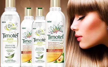 2 šampony a 2 kondicionéry Timotei!