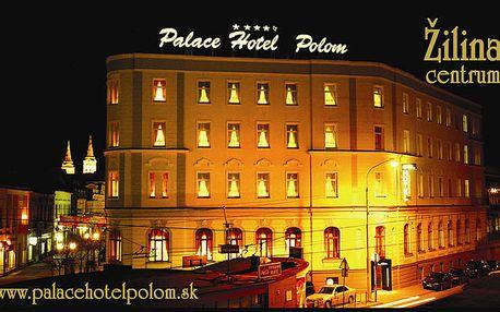 Romantika v novozrekonštruovanom hoteli, ktorý svojou architektúrou patrí k najvýznamnejším a najstarším hotelom v Žilinskom regióne. Romantická večera, relax, zábava a ubytovanie v centre za 178€.