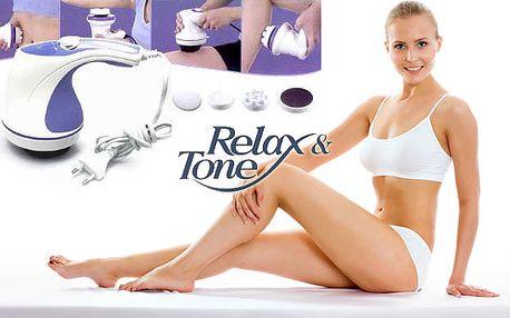 Masážny prístroj Relax and spin tone pre odstránenie tuku, celulitídy, bolesti chrbta a šije a zlepšenie krvného obehu len za 15,99 € po 68% zľave.