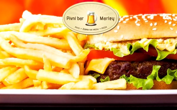 Gurmánské steakburgery s kopou hranolek pro dva