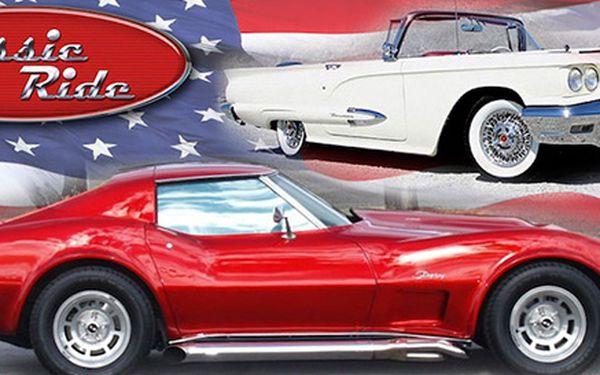 Projížďka v amerických autech! (30 min)
