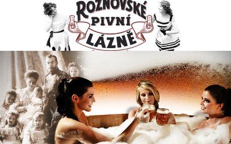 3 dni starostlivosti v Rožnovských pivných kúpeľoch za 215 € pre dvoch! Až 26 procedúr!