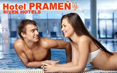 3-dňový víkendový pobyt pre 2 osoby v Sivek Hotels*** Hotel Prameň Dudince s polpenziou, fľašou vína, masážou, vstupom do bazéna a vírivky!