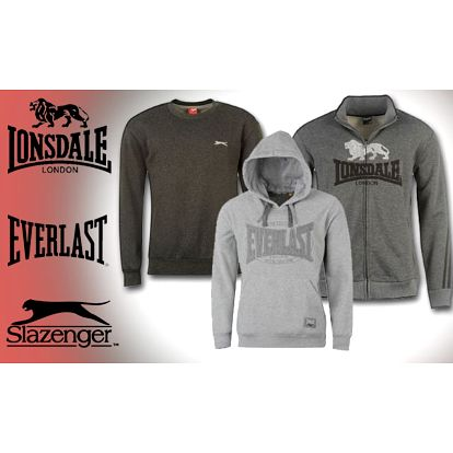 Až 58% zľava za kolekciu pánskych mikín značky Lonsdale, Everlast alebo Slazenger už od 14,99€. Na výber niekoľko modelov v 60 farbách a 5 veľkostiach.
