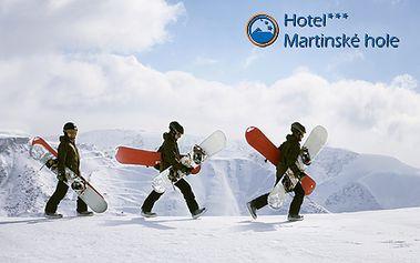 3 alebo 4-dňový pobyt v Hoteli Martinské hole*** priamo vo Winter Park Martinky! Čaká na vás skvelá jarná lyžovačka na prírodnom snehu, 9,5 km kvalitných zjazdoviek!