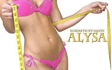 Balík 5x40-min. ultrazvukovej kavitácie, teraz za ešte výhodnejšiu cenu na trhu 11 € za procedúru. 1 CityKupón zahŕňa 5 procedúr, podľa výberu, len v salóne ALYSA!