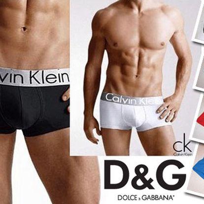 Len 15,99€ za 2 kusy kvalitných pánskych boxeriek exkluzívnych módnych značiek v štyroch farbách s 50% zľavou.