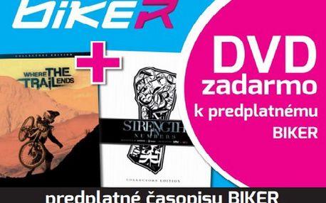 Predplať si 14 vydaní časopisu Biker a dostaneš RedBull DVD v zberateľskej edícii a na BluRay zadarmo! Získaj jeden z dvoch najepickejších bikových filmov roku 2012!