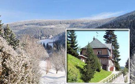 4denní pobyt s polopenzí v Peci pod Sněžkou!