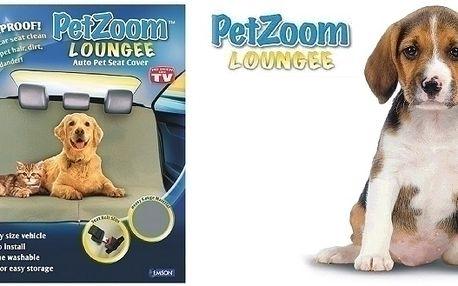 Zvířecí deka do auta PETzom Lounge, nyní Vaše auto...