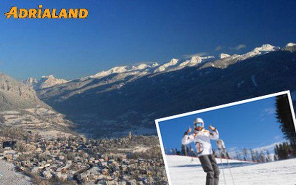 Lyžování ve Val di Fiemme na 8 dní od 2330 Kč! Termíny i v hlavní sezóně!