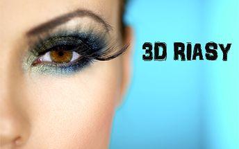Získajte zvodné riasy vďaka aplikácii 3D lashes len za 19,90 €! Riasy podčiarknú krásu očí a vaša tvár získa nový výraz!