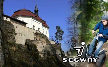 Úžasná 1,5 hod. projížďka na SEGWAY jen za 499 Kč! Neobvyklý výlet po Českém Ráji s prohlídkou okolí hradu Valdštejn a zámku Hrubá skála včetně krásné vyhlídky na Skály!