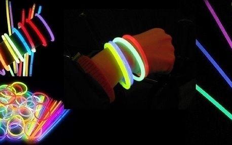Light Stick svítící tyčinky 100ks za skvělých 165k...