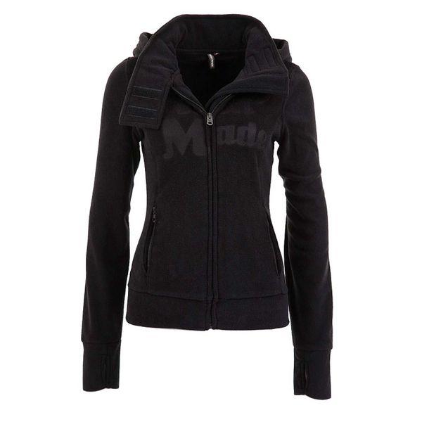 Dámská fleecová bunda Fresh Made černá s logem