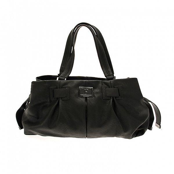 Černá podlouhlá kabelka Ferré