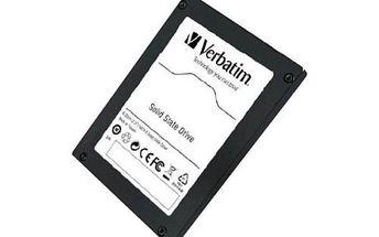 Interní SSD disk VERBATIM SATA II Solid 64 GB. Nevídaně zrychlí i váš starý počítač.
