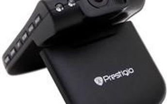 Kamera do auta. PRESTIGIO Roadrunner HD1. Neocenitelná v případě prokazování průběhu dopravní nehody.