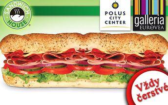 Trúfnete si na skutočný BIG sendvič? Vynikajúca chuť, vysoká kvalita ale hlavne veľká porcia v SANDWICH HOUSE len za 2,99€.