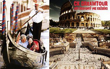 5-dňový zájazd do romantických BENÁTOK a RÍMA od CK DreamtouR! Doprava luxusným autobusom, hotelové ubytovanie s raňajkami, sprievodca a slávnostná veľkonočná omša vo Vatikáne!
