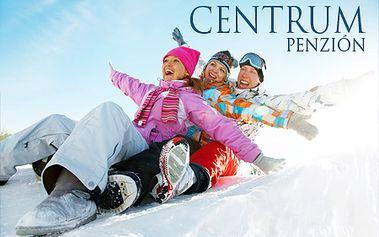 3-dňový pobyt s polpenziou pre 2 osoby v penzióne Centrum** len za 49,90 €! Skvelá lyžovačka v Západných Tatrách! + množstvo zliav na skipasy!